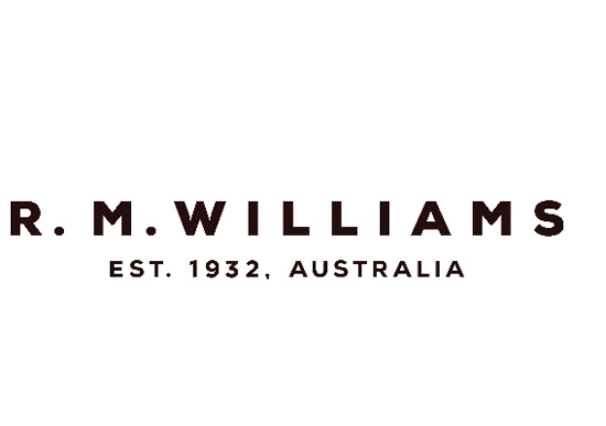 R.M.WILLIAMS AT MYER logo
